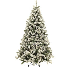 Royal Christmas Ель искусственная Flock Tree Promo Hinged 120 см