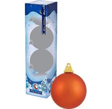 Украшение Kaemingk Набор шаров 6шт Orange 022147